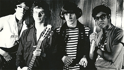The Headlights promotional photograph, March, 1978