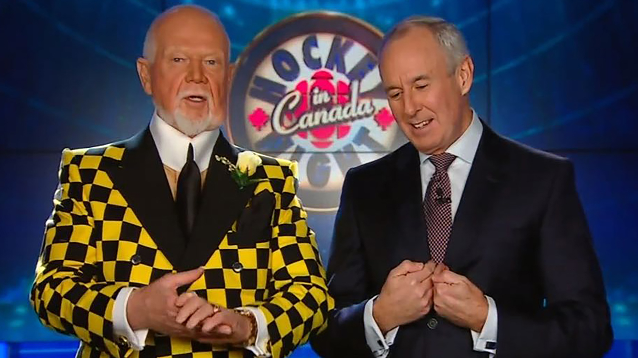 Don Cherry, Don McLean on Hockey Night in Canada